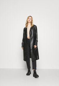 4th & Reckless - LANCER - Trenchcoat - black - 1
