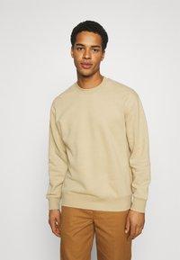 Topman - CREW 2 PACK - Sweatshirt - olive - 1