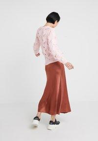 2nd Day - HOUSTON - Maxi skirt - red ochre - 2