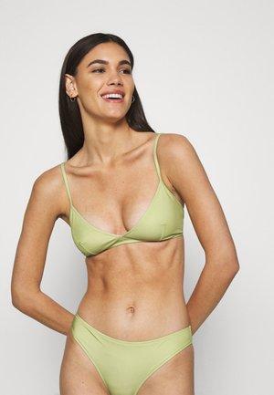 MALOU - Bikini top - tarragon