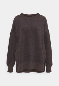GARDEN CREW - Fleece jumper - university grey