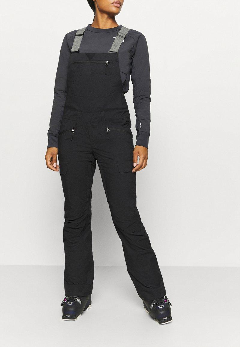 The North Face - FREEDOM BIB - Snow pants - black