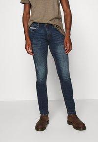 INDICODE JEANS - HIND - Slim fit jeans - denim blue - 0