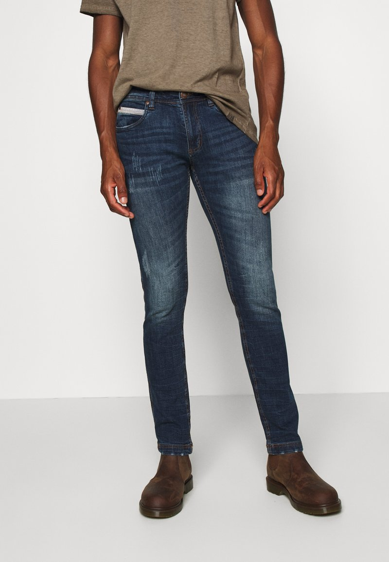 INDICODE JEANS - HIND - Slim fit jeans - denim blue