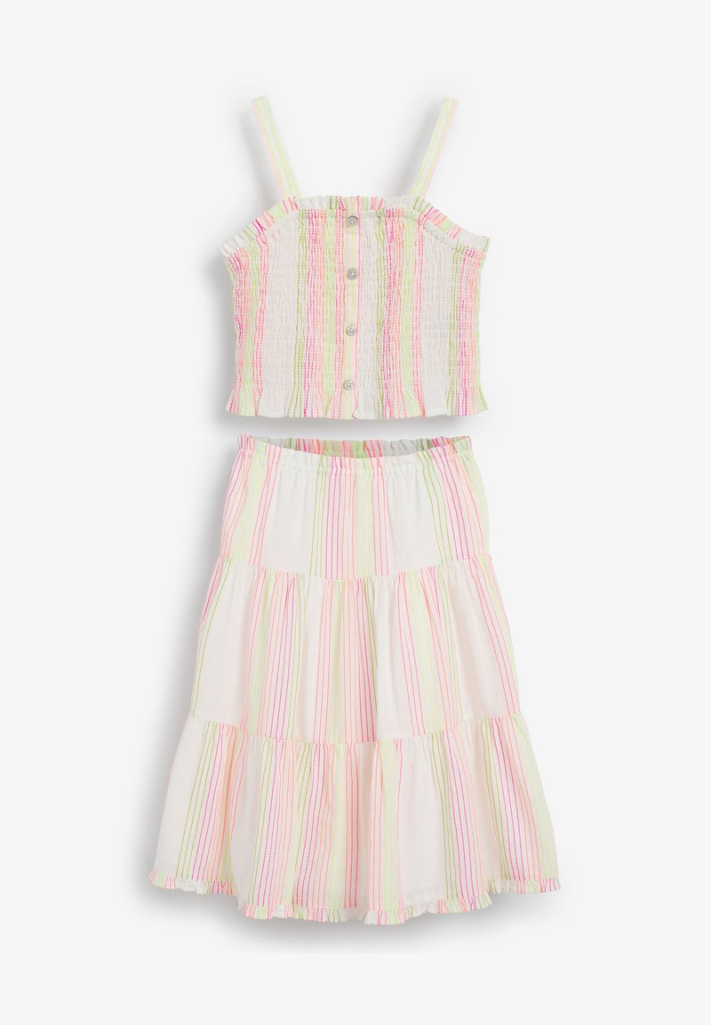 Next - A-line skirt - multi-coloured