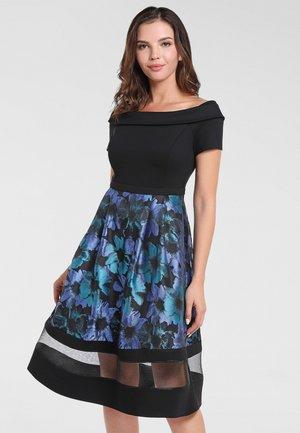 Cocktail dress / Party dress - petrol-multicolor