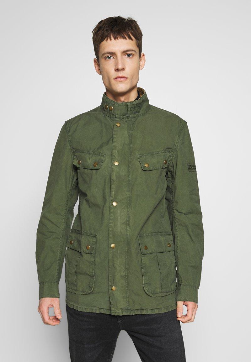 Barbour International - COLOURED DUKE CASUAL - Summer jacket - racing green
