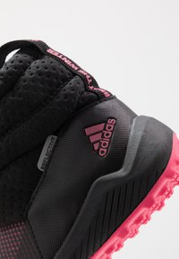 adidas Performance - RAPIDASNOW - Winter boots - core black/real pink/footwear white - 2