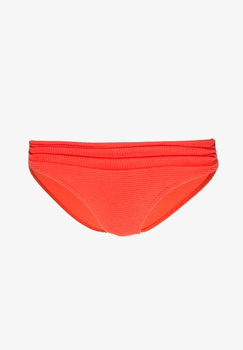 Bikini bottoms - coral