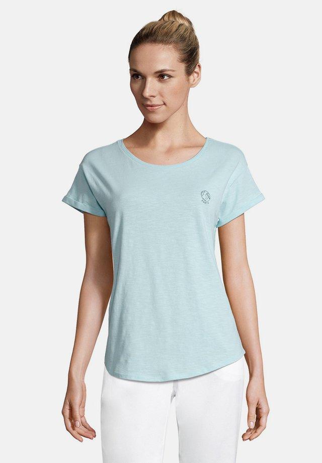 STICKEREI - Print T-shirt - türkis