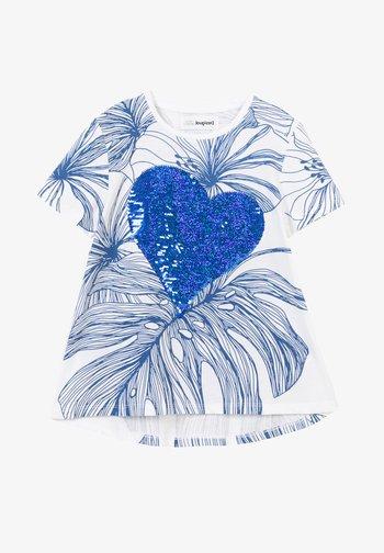 TS_GRETA - Print T-shirt - white