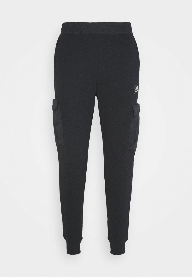 New Balance - ATHLETICS TERRAIN PANT - Tracksuit bottoms - black