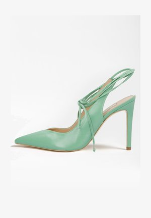 BRIOLA - High heeled sandals - grün