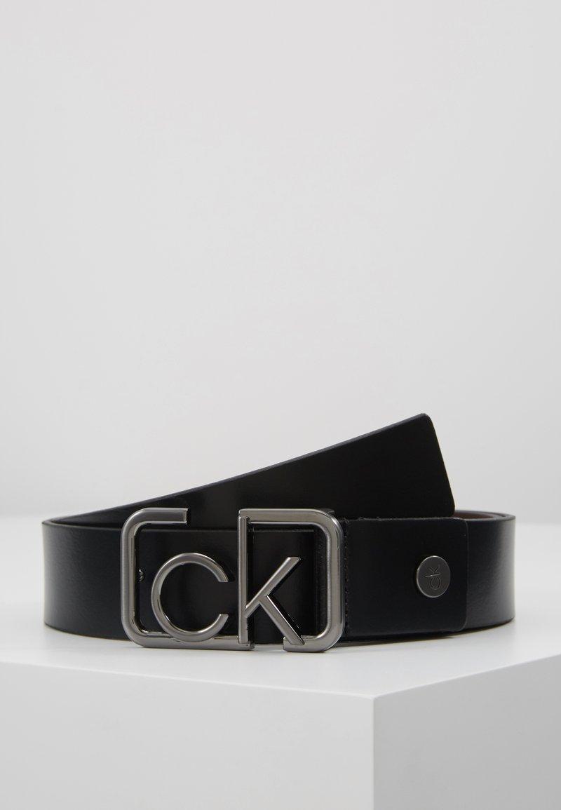 Calvin Klein - SIGNATURE BELT - Cintura - black