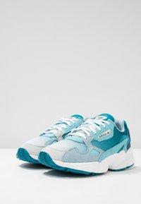 adidas Originals - FALCON - Matalavartiset tennarit - blue tint/light aqua/ash grey - 4