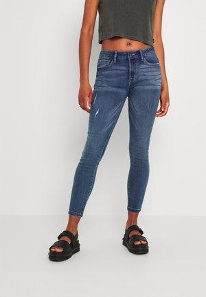 JDYJIHANE LIFE - Jeansy Skinny Fit - medium blue denim