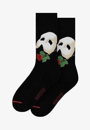 OPERA GARNIER - Socks - schwarz/rot