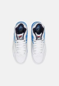 Fila - M-SQUAD UNISEX - Sneakers high - white/indigo bunting - 3