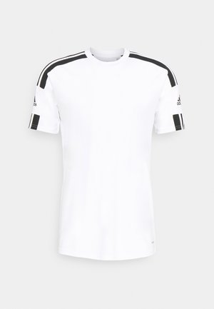 SQUAD 21 - T-shirt imprimé - white/black