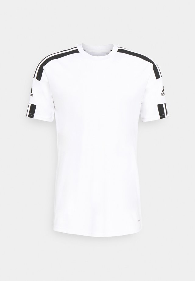 SQUAD 21 - T-shirt med print - white/black