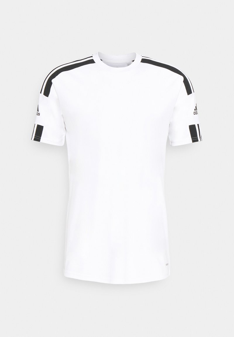 adidas Performance - SQUAD 21 - T-shirts print - white/black