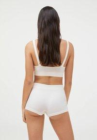 OYSHO - KNIT  - Pants - white - 1