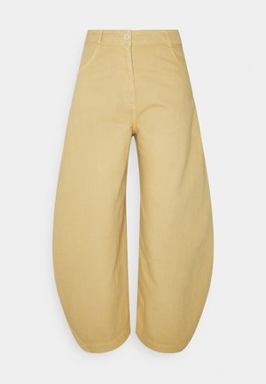 PIPETTE PANTS - Relaxed fit jeans - sand