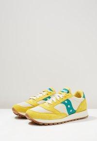 Saucony - JAZZ ORIGINAL VINTAGE - Sneaker low - mustard/tan/teal - 2
