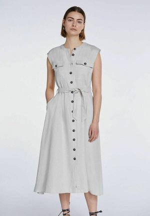 Shirt dress - light stone