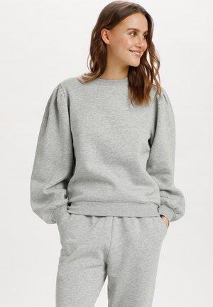 Sweatshirt - pearl grey mel