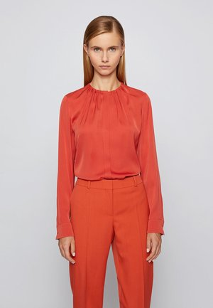 BANORA - Blouse - dark orange