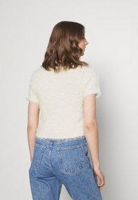 Monki - CIMA  - Print T-shirt - offwhite - 2