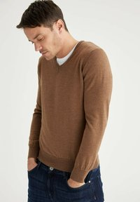 DeFacto - ITALIAN COLLECTION - Jumper - brown - 5