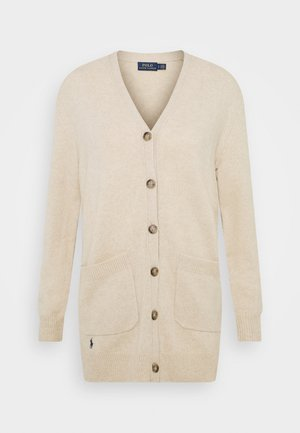 CARDIGAN LONG SLEEVE - Kofta - tallow cream