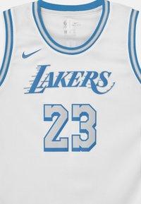 Nike Performance - NBA CITY EDITION LEBRON JAMES LA LAKERS UNISEX - Club wear - white - 2