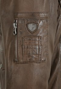 Gipsy - CRUISE - Leather jacket - dark brown - 4