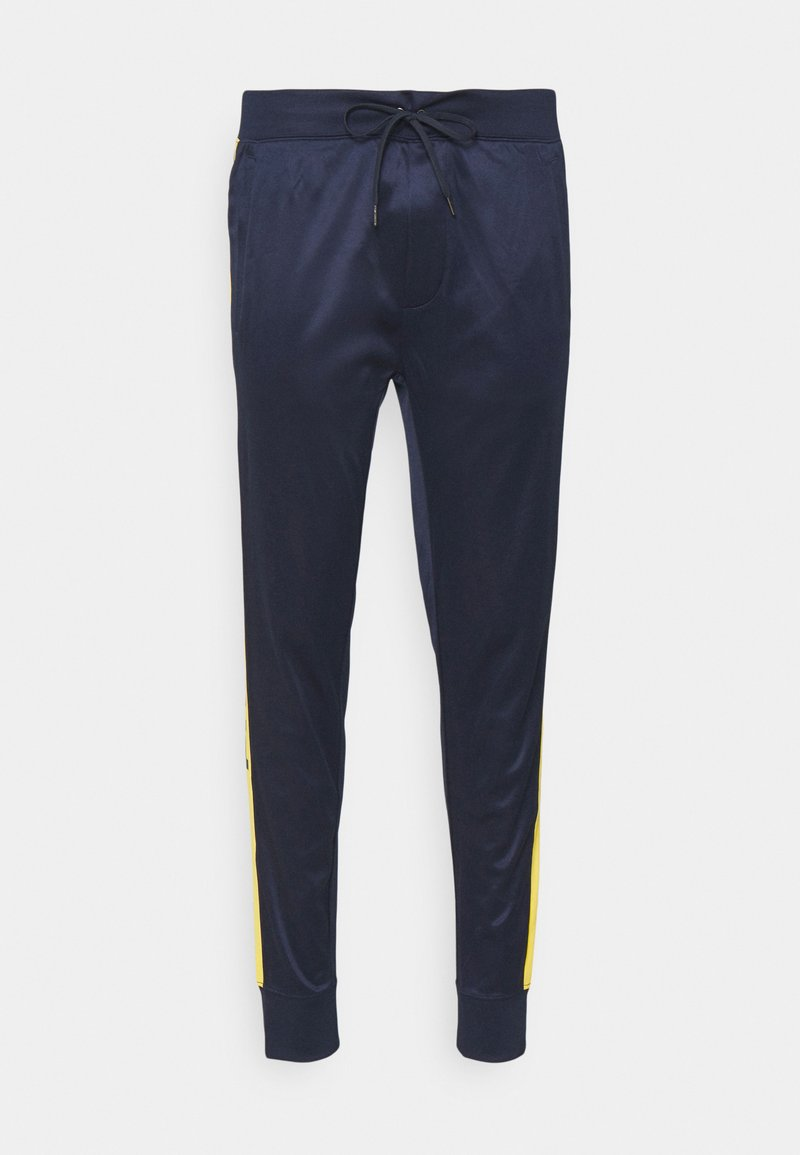 Polo Ralph Lauren - TRICOT - Tracksuit bottoms - cruise navy multi