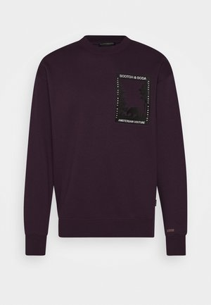 ARTWORK - Sweatshirt - bordeaubergine
