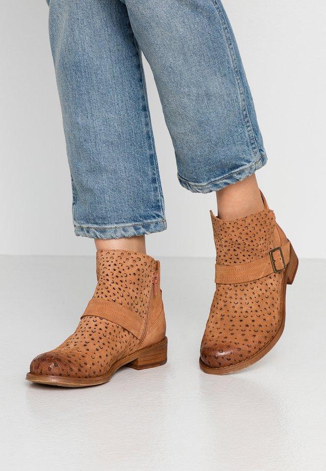 BEJA WIDE FIT  - Classic ankle boots - cognac