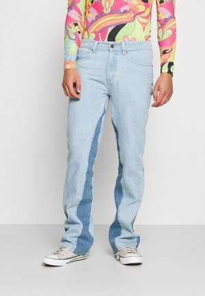 PANELLED TROUSER - Relaxed fit jeans - blue