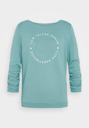 LOGO PRINT - Sweatshirt - mineral stone blue