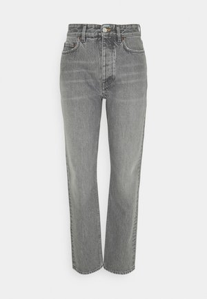 PEARL - Straight leg -farkut - grey wash