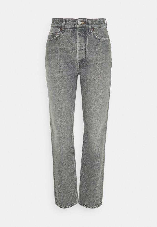 PEARL - Straight leg jeans - grey wash