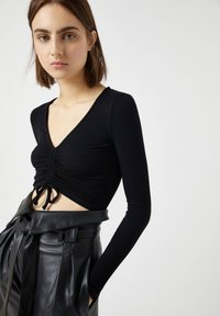 PULL&BEAR - Blouse - black - 3