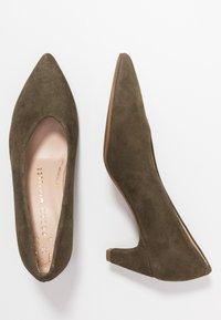 Pedro Miralles - Classic heels - amalfi kaki - 3