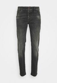 JJIGLENN JJFOX AGI - Slim fit jeans - black denim