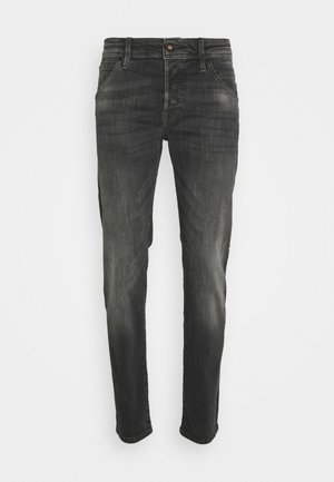 JJIGLENN JJFOX AGI - Jeans slim fit - black denim