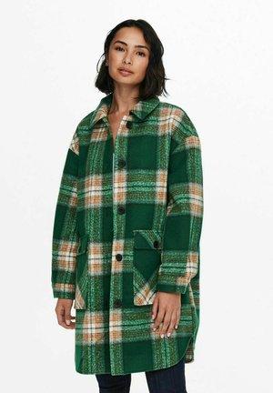 ONLLANE  SHACKET  - Classic coat - evergreen