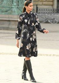 Alba Moda - Day dress - schwarz/creme-weiß - 3