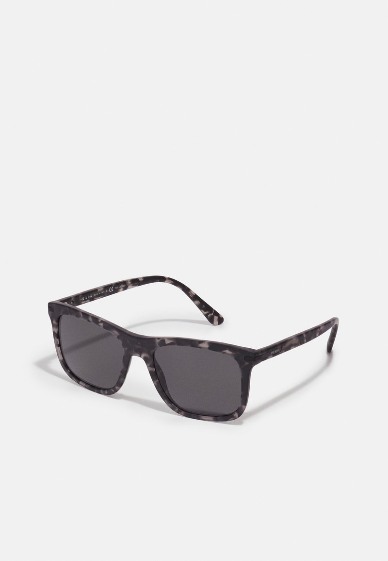 Prada - Sunglasses - matte dark grey tortoise